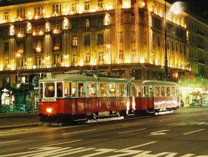 A Vintage Tram Tour is especially splendid in the winter time