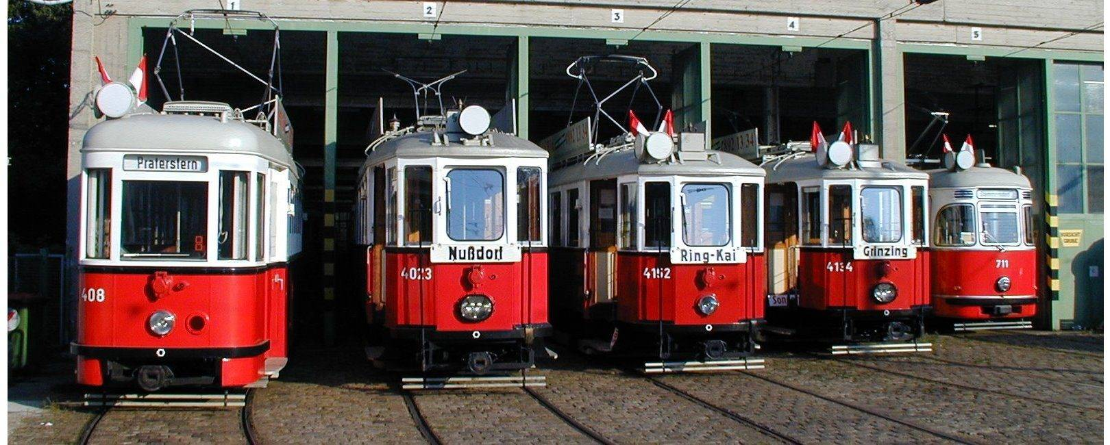 The Vintage Tramcars by Rent a Bim