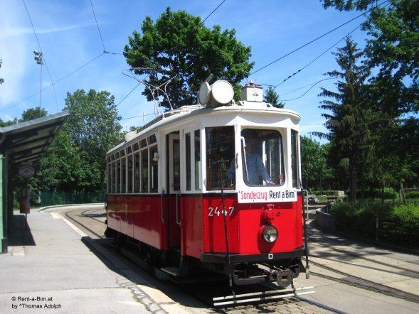 """Unser """"alter Herr K"""", ein Wagen aus dem Jahr 1913, der noch den Kaiser gesehen hat"""