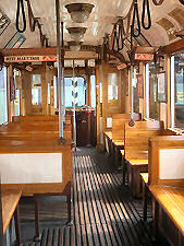 Tramcar Type M from inside