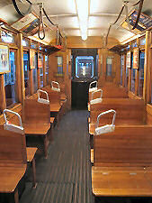 Tramcar Type K from inside