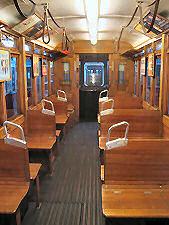 Tramcar Type K from inside